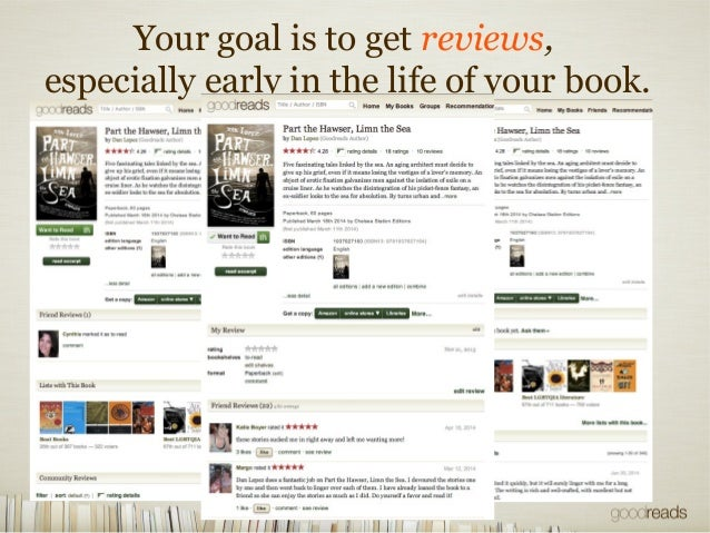 Marketing Your Book on Goodreads for Goodreads Authors