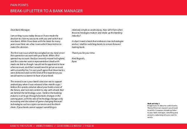 BANK TO THE FUTURE // #REBELTHINKING // GOOD REBELS & REEVOO // PAGE 46 PAIN POINTS MAJOR PAIN POINTS: OVERVIEW YOU DON'T ...
