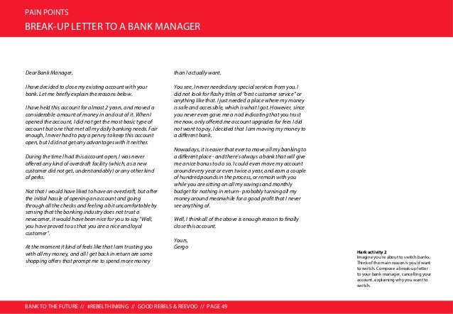 BANK TO THE FUTURE // #REBELTHINKING // GOOD REBELS & REEVOO // PAGE 50 PAIN POINTS MAJOR PAIN POINT 3: EXPLOITATION AND D...