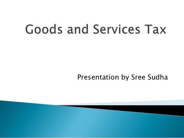 Presentation by Sree Sudha