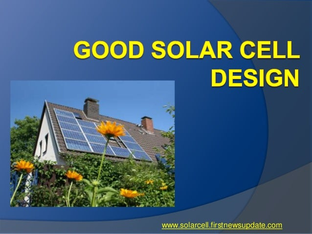 www.solarcell.firstnewsupdate.com
