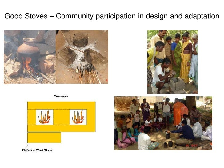 Good Stoves – Community participation in design and adaptation<br />