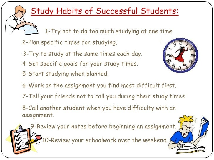 10 Good Study Habits to Help Your Child Succeed in the New School Year