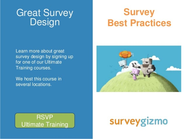 how to develop good survey questions