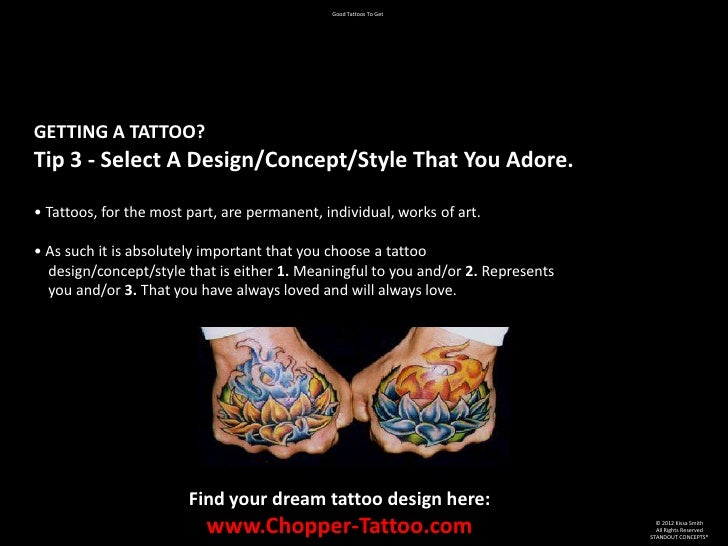 Good tattoos to get for Should you tip a tattoo artist
