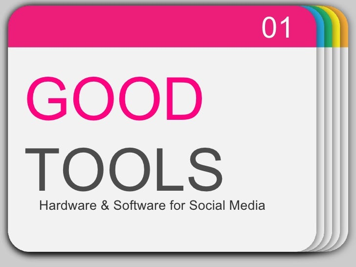 WINTER Template GOOD   TOOLS 01 Hardware & Software for Social Media