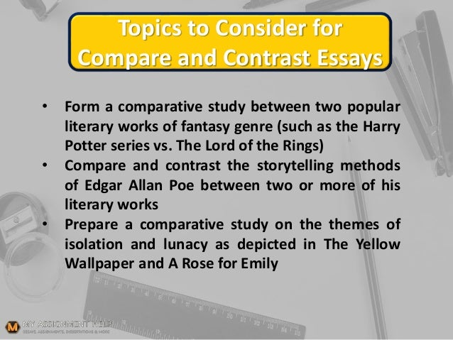 Essays About Health Topics  Essay For English Language also High School Persuasive Essay Examples Topics To Consider For Compare And Contrast Essays Write A Good Thesis Statement For An Essay