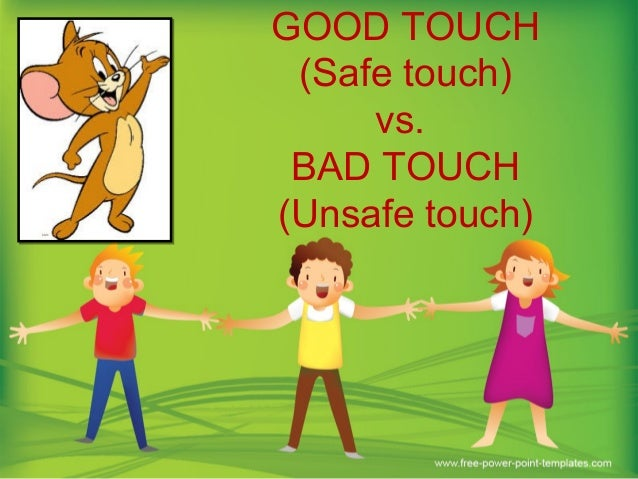 Good Touch Bad Touch(safe And Unsafe Touch)