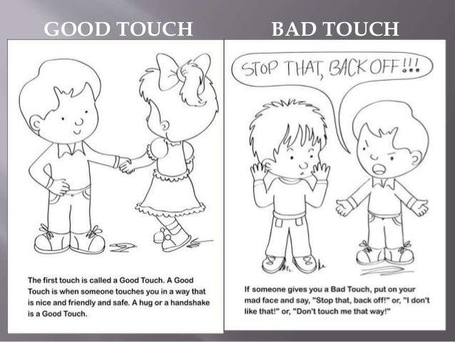Good touch & bad touch ppt