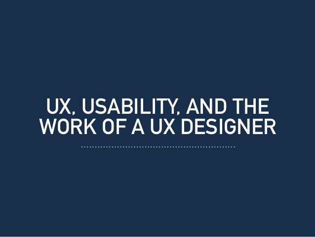 Good UX Bad UX Slide 3
