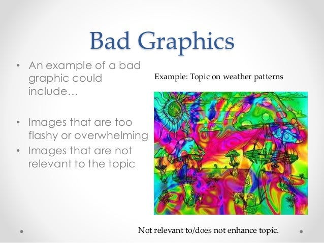 Bad Graphics O An Example