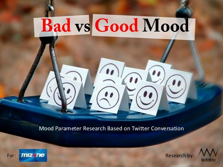 Mood Parameter Research Based on Twitter ConversationFor:                                                 Research by: