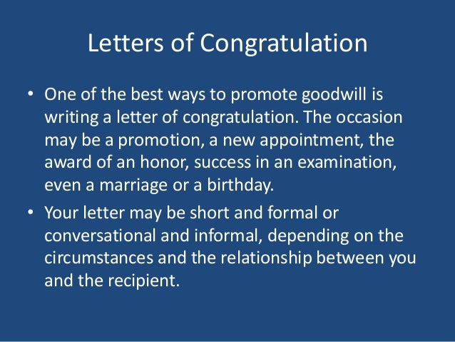 3 ways to write a letter of congratulations wikihow.