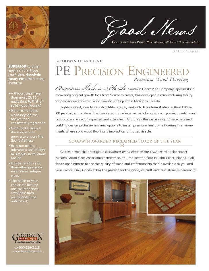 Goodwin Heart Pine Price Guide 2
