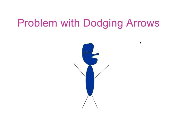Problem with Dodging Arrows