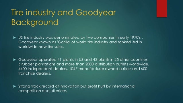 goodyear the aquatred launch condensed Summary of recommendations: the timing, targeted segments and distribution channels are critical to the successful launch of the aquatred tire and to the reposition of goodyear as no 1 in all its segments consideration sets.