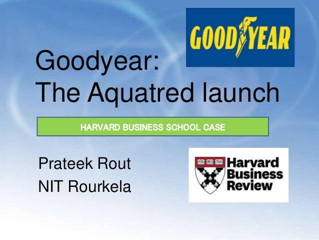 goodyear case study aquatred