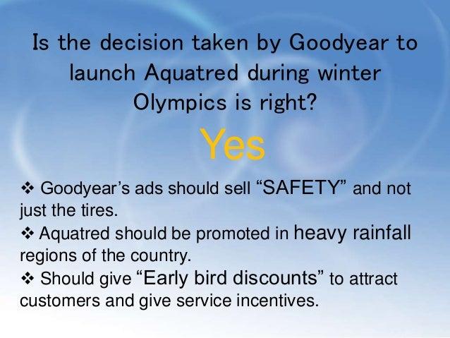 Goodyear aquatred case study
