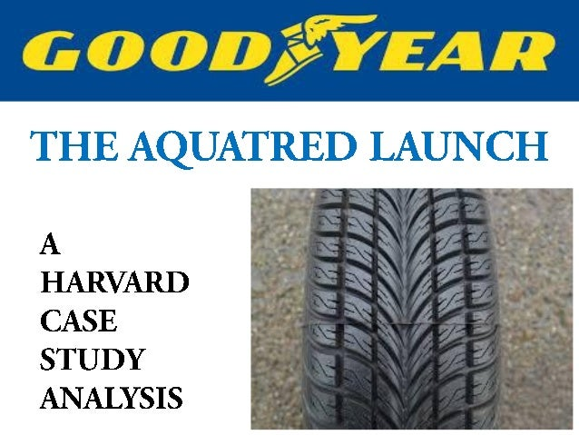 goodyear aquatred case study Goodyear tires case study analysis marketing - goodyear tire and rubber company essay about goodyear tires case study - case study: goodyear: the aquatred launch.