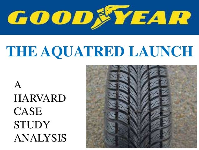 goodyear the aquatred launch case study analysis