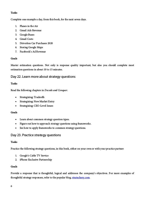 30-Day Google PM Interview Study Guide