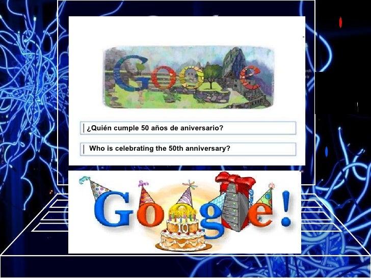 Who is celebrating the 50th anniversary?   ¿Quién cumple 50 años de aniversario?