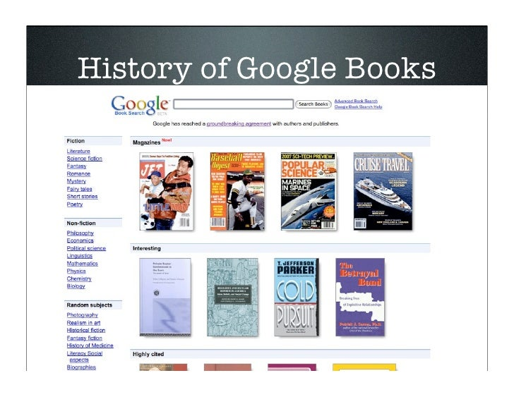 the google books settlement is it fair Google, affirming that mass book digitization by google constituted a legal fair use  the rejection of the google books settlement march 31, 2011.