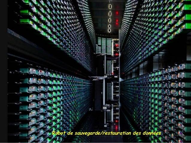 Robot de sauvegarde/restauration des données
