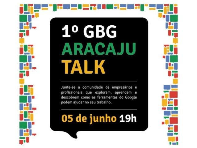 Lucas Augusto CarvalhoConhecendo a rede socialGoogle+Lucas Augusto CarvalhoGerente do GBG Aracajugplus.to/lucasaugustomcc