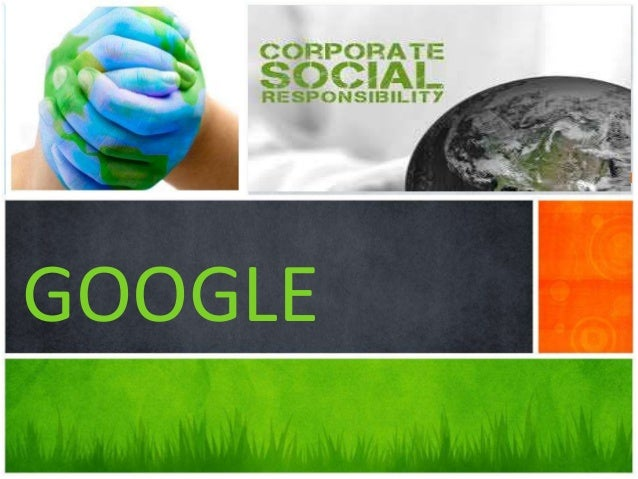 CSR of Google