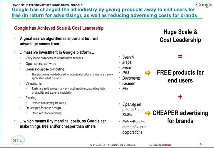 google online business court case study