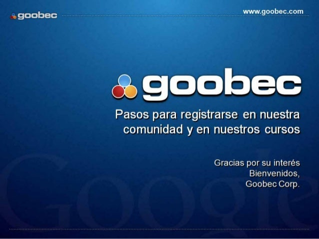 Google AdWords Beneficios Registro Goobec