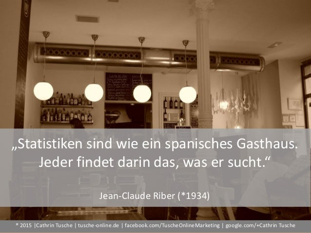 "® 2015  Cathrin Tusche   tusche-online.de   facebook.com/TuscheOnlineMarketing   google.com/+Cathrin Tusche ""Statistiken s..."