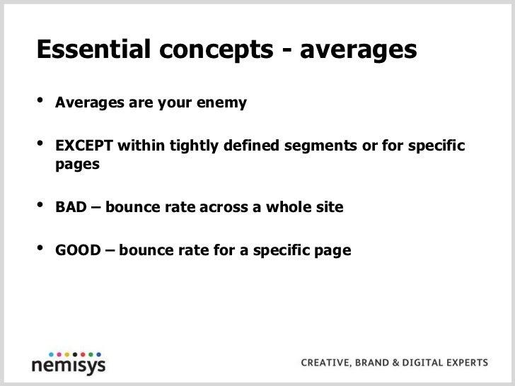 Remember - You have both – Urchin and Google Analytics</li></li></ul><li>Use analytics to your advantage<br />