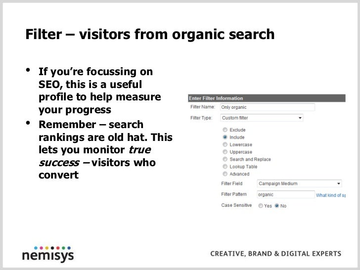 Visitors - new & returning<br />Absolute numbers are OK<br />But differences between segments are much more interesting<br...