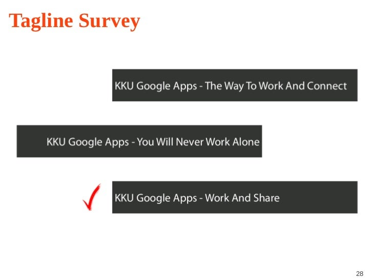 Google apps for education an implementation case study of kku tagline survey 28 toneelgroepblik Choice Image