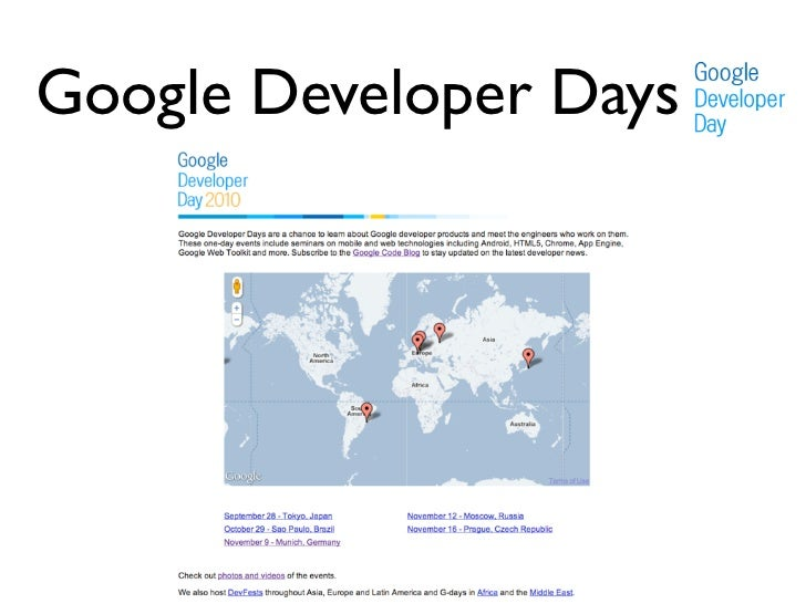 Google Developer Days