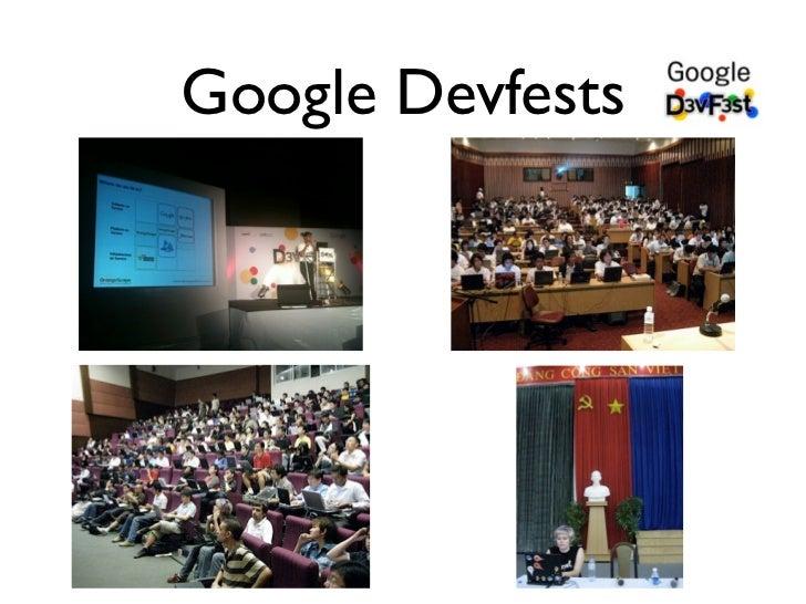 Google Devfests