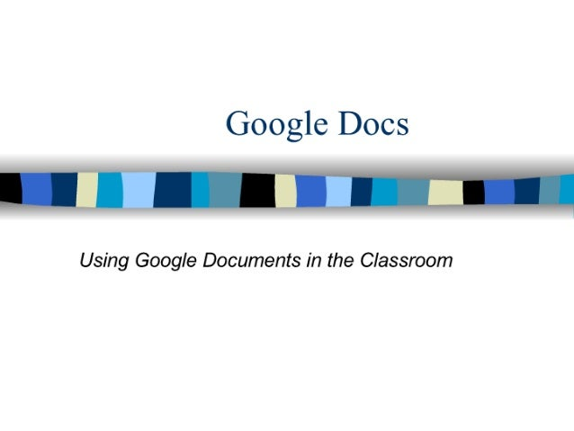 Google Docs Workshop