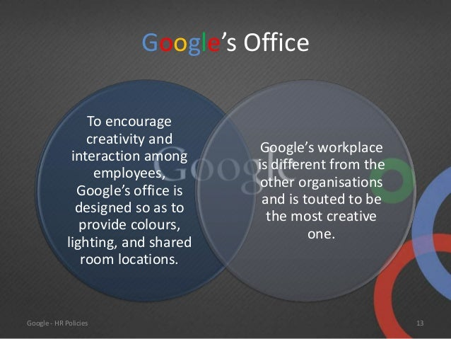 collect idea google offices. Google HR Policies Collect Idea Offices