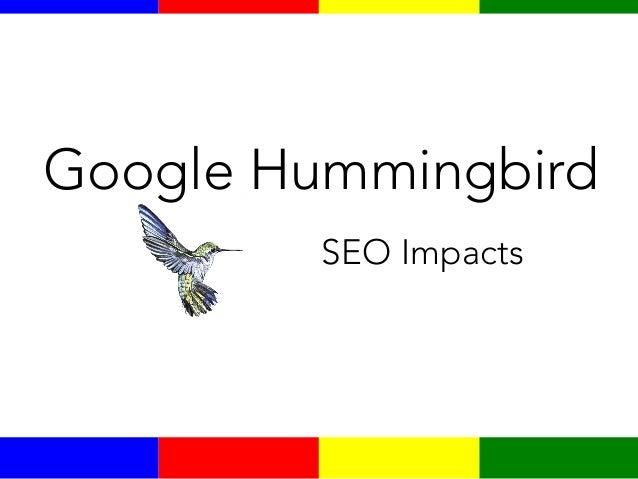 Google Hummingbird SEO Impacts