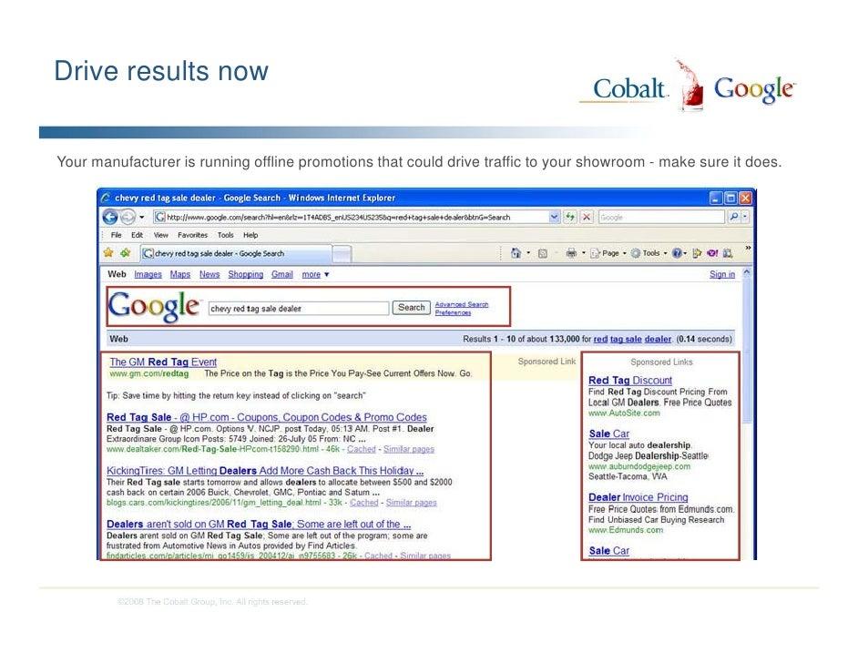Google Marketing Mixology Digital Dealer Conference - Gm dealer invoice price