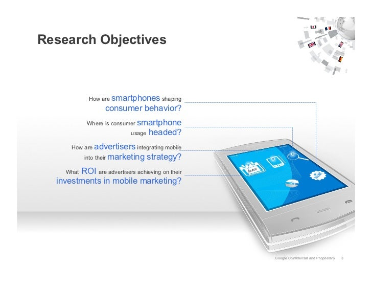 Global Perspective: The Smartphone User & The Mobile Marketer Slide 3