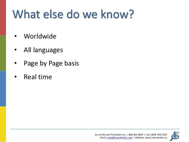 Google Mobile Friendly Website Ranking Update Set For April - Worldwide languages list