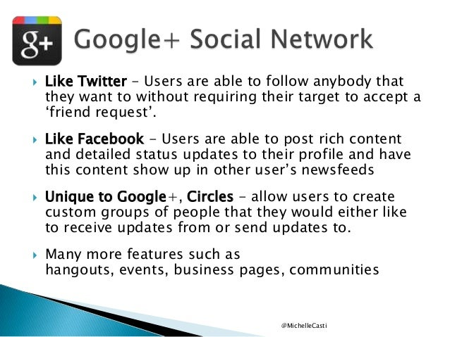 """        Like Twitter - Users are able to follow anybody that they want to without requiring their target to accept a """"..."""