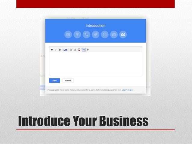 how to add google plus to google my business