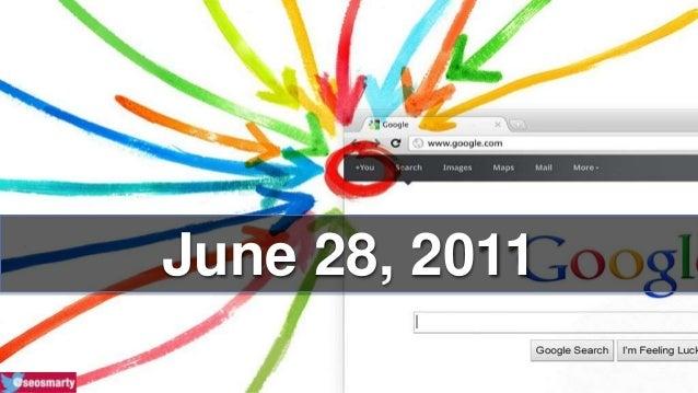 Google Plus: The Past, The Present, The Future Slide 2