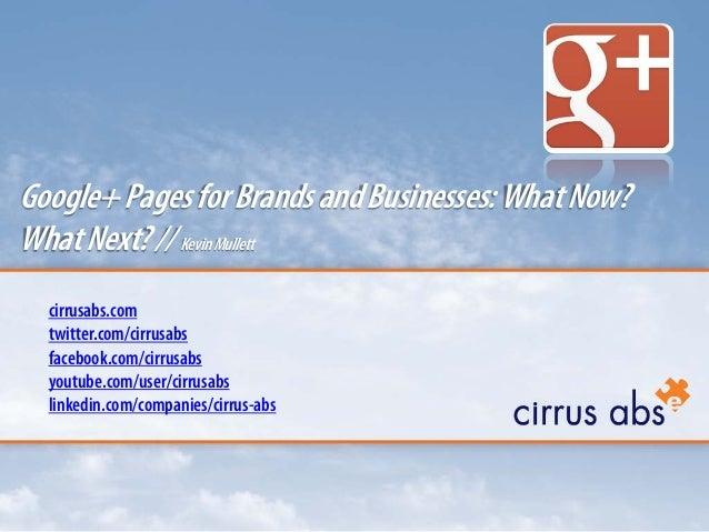 cirrusabs.com twitter.com/cirrusabs facebook.com/cirrusabs youtube.com/user/cirrusabs linkedin.com/companies/cirrus-abs Go...