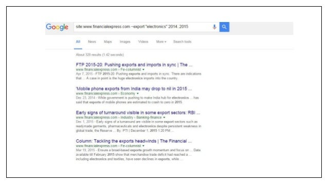Google power search and Google tools