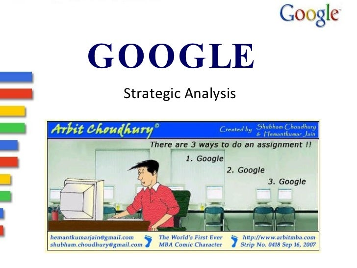 GOOGLE  Strategic Analysis